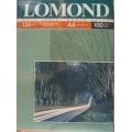 LOMOND fotopapīrs A4 LP0102004