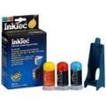 Uzpildes komplekts tintes kārtridžam HP 51625A - krāsains